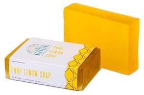 Nirvaana Handmade Natural Lemon Soap 100g