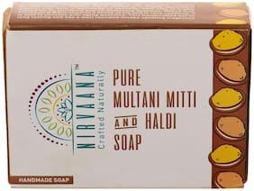 Nirvaana Natural & Pure Handmade Mulatni Mitti Soap 100g