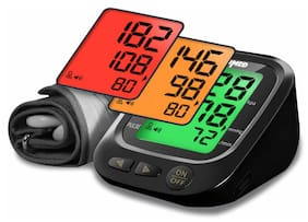 NISCOMED PW-218 Fully Automatic Digital Blood Pressure Monitor(BLACK)