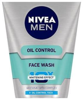Nivea Advanced Whitening Face Wash - Oil Control  100 g