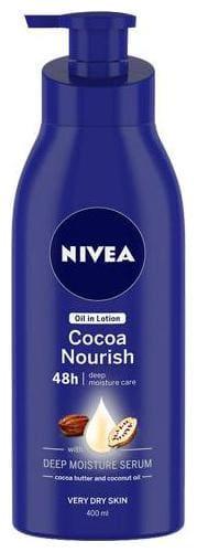Nivea Body Essential Cocoa Nourish Milk 400 ml