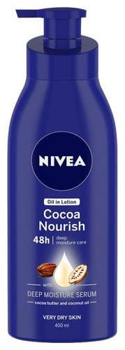 Nivea Body Essential Cocoa Nourish Milk 400 ml