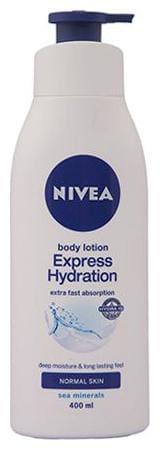 Nivea Body Lotion Express Hydration (Normal Skin) 400 Ml