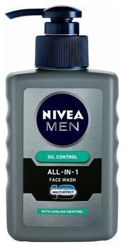 Nivea Face Wash - Men Oil Control All In One 150 ml