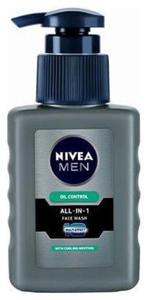 Nivea Face Wash - Men Oil Control All In One 65 Ml
