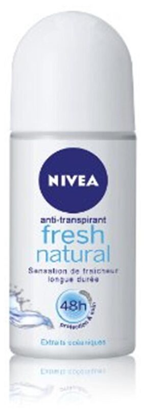 Nivea Men Fresh Natural Roll On Deodorant-50 ml