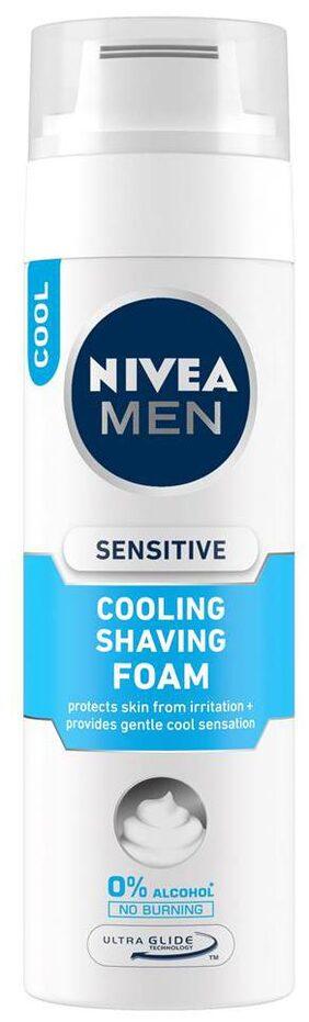 Nivea Men Sensitive Cooling Shaving Foam 200 ml