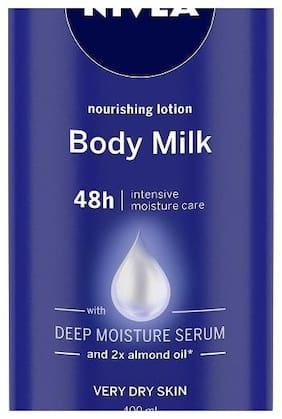 Nivea Nourishing Body Lotion Body Milk Almond Oil (Very Dry Skin) 400 ml