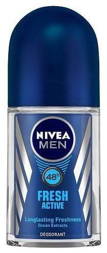 Nivea Roll On Fresh Active (For Men) 50 ml