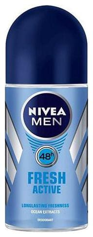 Nivea Roll On Fresh Active (For Men) 50 ml