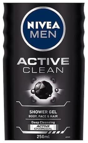 Nivea Shower Gel Active For Men 250 Ml