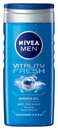 Nivea Shower Gel Vitality Fresh For Men 250 Ml