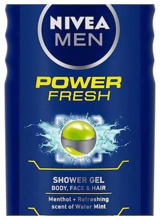 Nivea Shower Gel Power Refresh (For Men) 250 ml