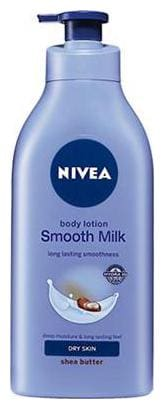 Nivea Smooth Body Milk Shea Butter (Dry Skin) 400 Ml