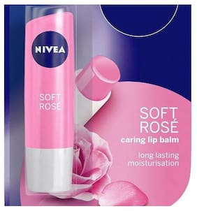 Nivea Soft Rose Lip Balm 4.8 g