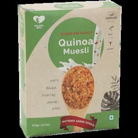 Nourish You Quinoa Muesli - No Added Sugar 375 gm