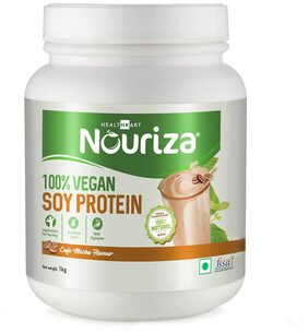 Nouriza 100% Soy Protein 1kg (Pack of 1)