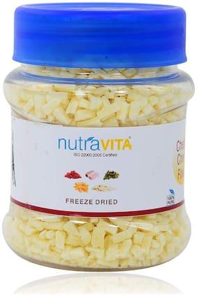 Nutra Vita Freeze Dried Mozzarella Cheese Flakes 70 gm