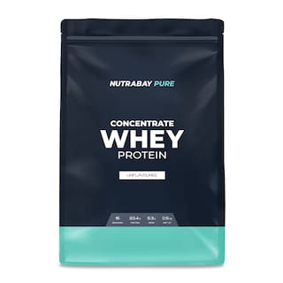 Nutrabay Pure Series Whey Protein Concentrate 500 g
