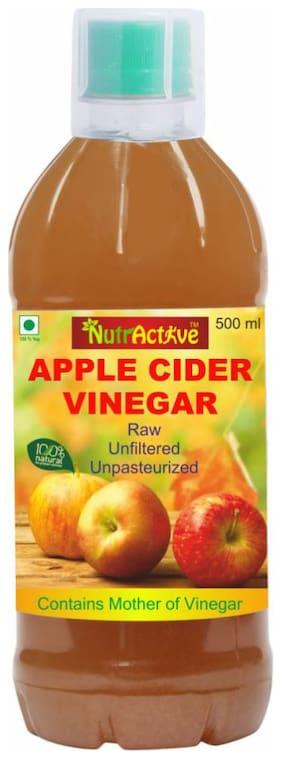NutrActive Natural Apple Cider Vinegar with Mother | Unfiltered 500 ml
