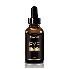 Nutrafirst Eye Serum For Dark Circles & Puffiness For Men And Women - 30ml (Pack Of 1)