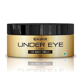 Nutrafirst Under Eye Cream For Dark Circles And Puffiness 50g (Pack Of 1)