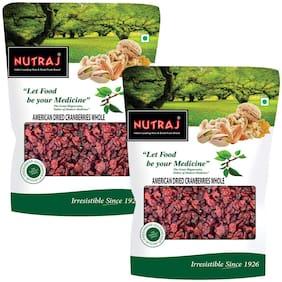 Nutraj American Dried Whole Cranberries 200gm(Pack of 2)
