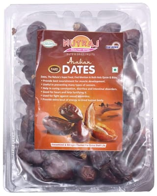 Nutraj Arabian Dates 500G Tray