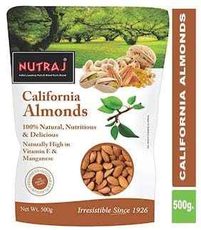 Nutraj California Almonds 500 Gm