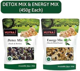 Nutraj Detox Mix & Energy Mix 450gm(Pack of 2)