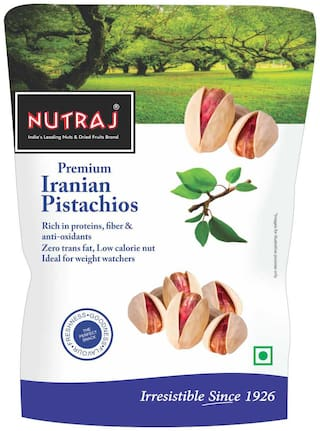 Nutraj Iranian Roasted & Salted Pistachios 250G