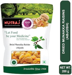 Nutraj Munakka Raisin (Abjosh) 200g Pack of 1