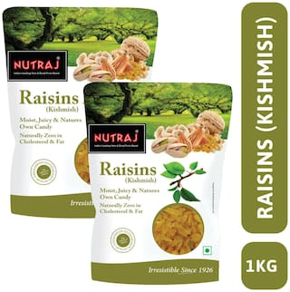Nutraj Super Long Raisin 1 kg (500g X 2)