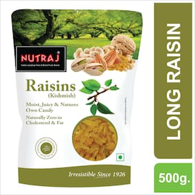 Nutraj Super Raisins Long (Kishmish) 500g