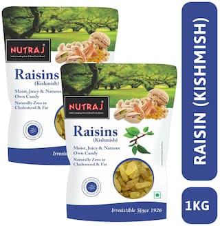 Nutraj Special Round Raisin 1 Kg (500 g X 2)