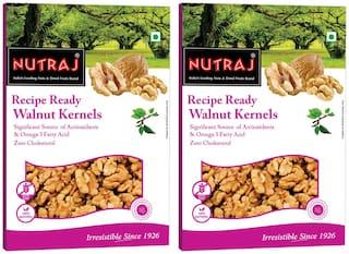 Nutraj Recipe Ready Walnut Kernels 250 G (Pack Of 2)