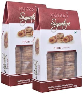 Nutraj Signature (Anjeer) Figs 400 G (Pack Of 2)