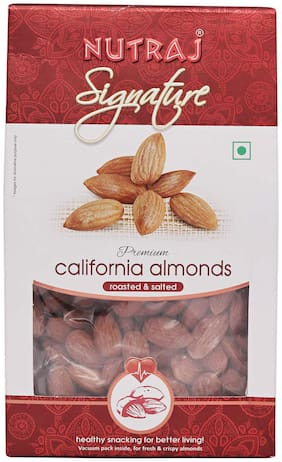 Nutraj Signature Roasted And Salted California Almonds 200G