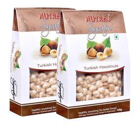 Nutraj Signature Turkish Hazlenut 100 G (Pack Of 2)