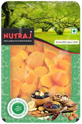 Nutraj Premium Dried Pitted Turkish Apricots 200g Tray