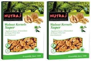 Nutraj Super Walnut Kernels 250 G (Pack Of 2)