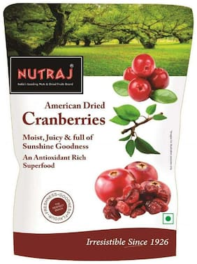Nutraj Sweet & Tart Sliced Cranberry 180G