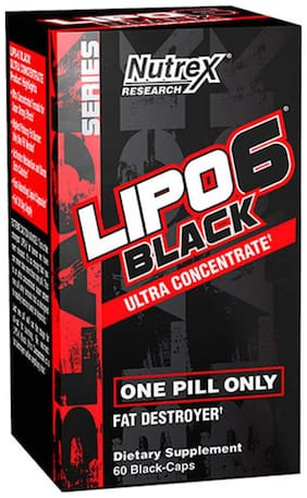 Nutrex Lipo 6 Black Ultra Concentrate -60 capsules
