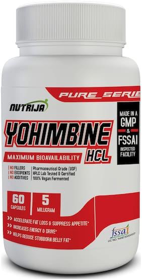 NutriJa YOHIMBINE HCL 5 MG;60g (Pack of 1)