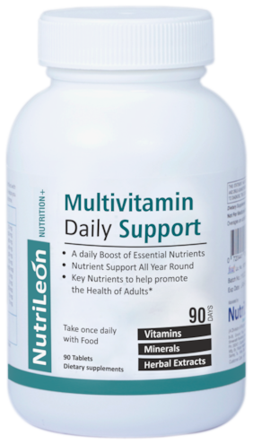 NutriLeon Multivitamin Daily with Spirulina, Ginseng, Pine Bark extract 90 tablets