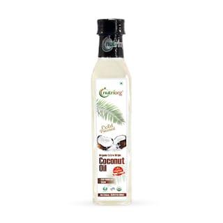 Nutriorg Certified Organic Extra Virgin Coconut Oil 500 ml