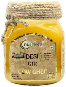 Nutriorg Desi Gir Cow Ghee 1000 ml