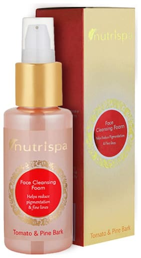 Nutrispa Face Cleansing Foam Tomato And Pine Bark 100 ml Pack Of 1