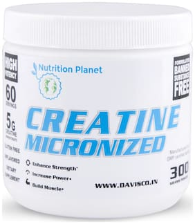 Nutrition Planet Micronized Creatine Monohydrate Unflavored 300g
