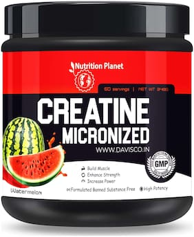 Nutrition Planet Micronized Creatine Monohydrate Watermelon 348g